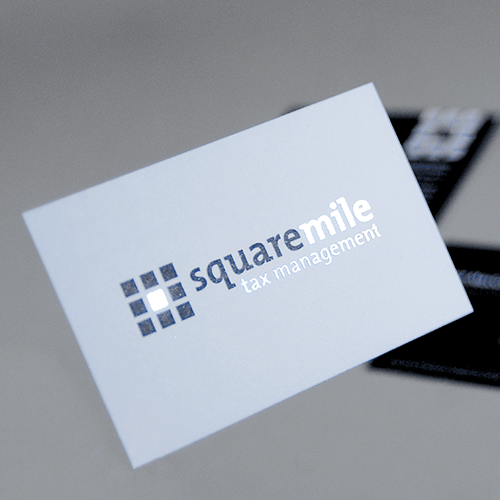 Square Mile Business Card