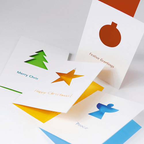Windowed Christmas Cards