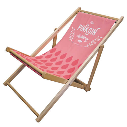 Pink Deck Chair