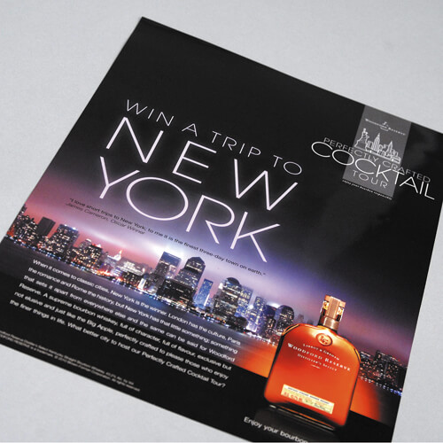 gloss laminated flyers