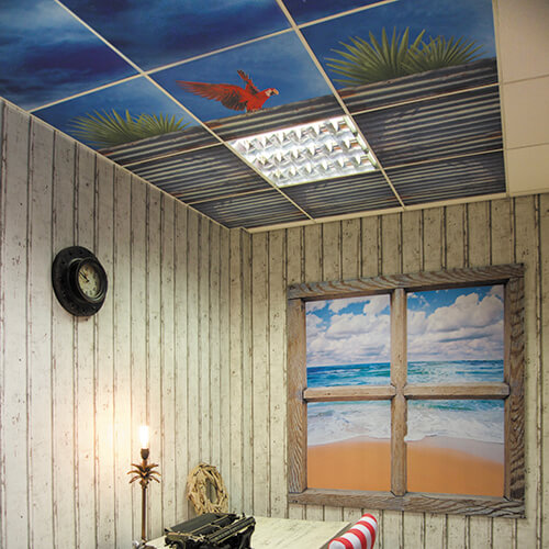 Printed Ceiling Tiles