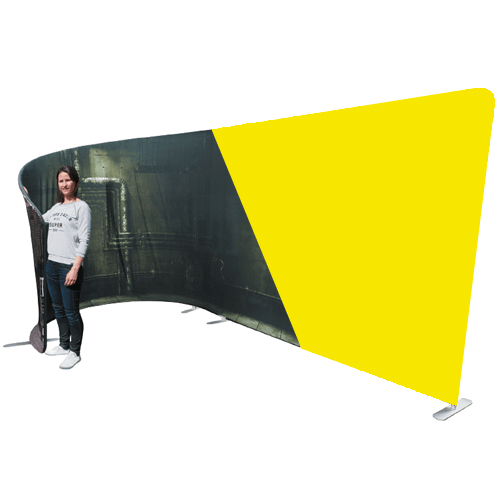 J Shaped Booth - Large