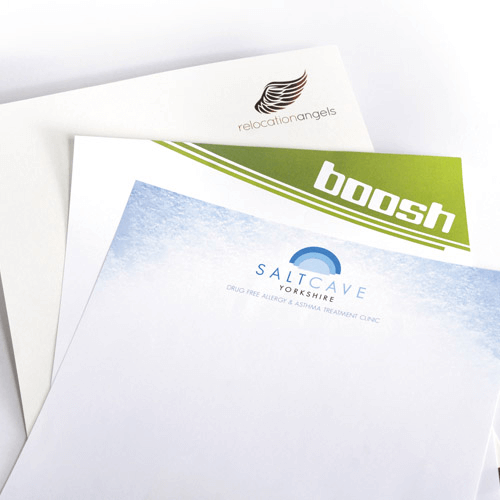 Letterheads with business logo design