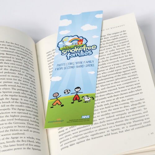 280gsm Gloss Bookmarks