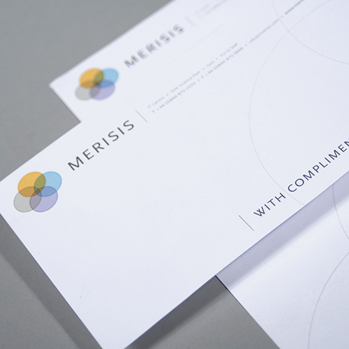 Compliment Slips with customized print